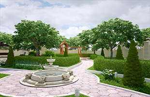 Ремонт садовых дорожек